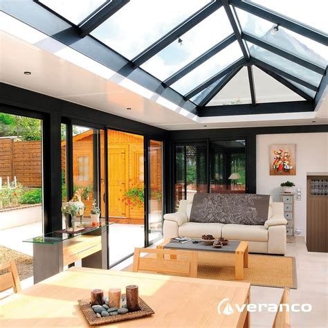 v 233 randa toiture plate extension de maison 224 toit plat