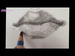 How To Draw My Realistic Lips Step By Step-Draw Realistic ...