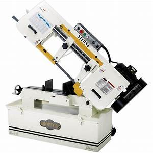 Shop Fox 10 U0026quot  X 18 U0026quot  Metal Cutting Band Saw M1054