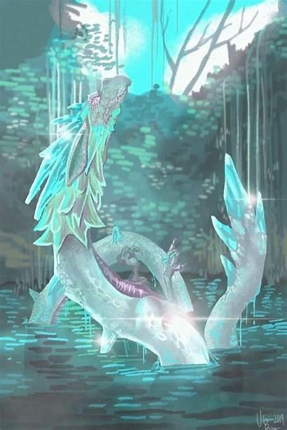 Dragon Zelda Breath Legend Botw Spring Naydra