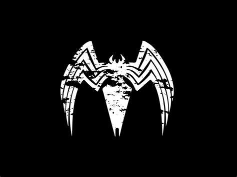 Desktop Wallpaper Venom, Logo, Villain, Minimal, Hd Image