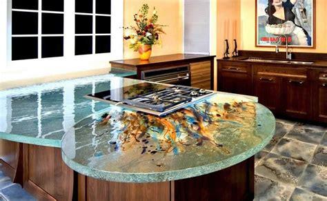unique kitchen countertops unique and artistic kitchen countertop orchidlagoon
