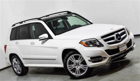 Recall to replace bolts on the steering rack. 2015 Mercedes-Benz GLK 350 4MATIC SUV | Polar White U14925