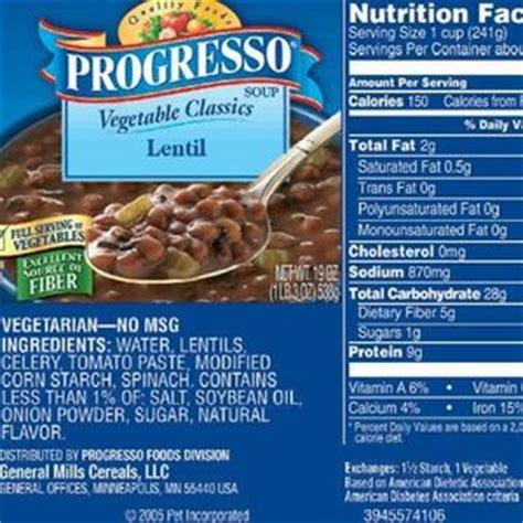 Progresso Vegetable Classics   Lentil Soup Reviews ? Viewpoints.com