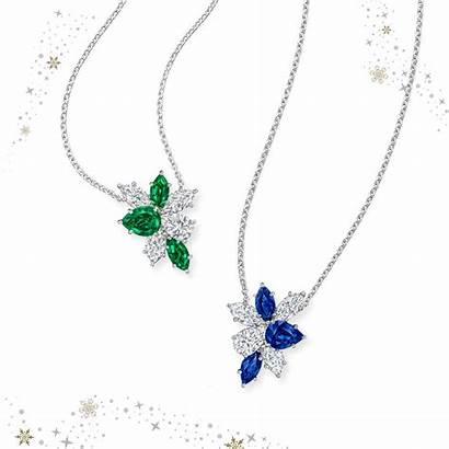 Winston Harry Harrywinston Jewelry Necklace Diamonds Gold