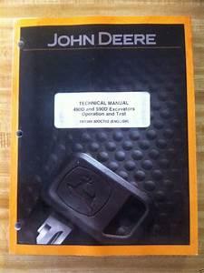 John Deere Jd 490d 590d Excavator Operation  U0026 Test Manual