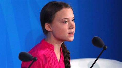 greta thunberg wouldnt  wasted  time talking