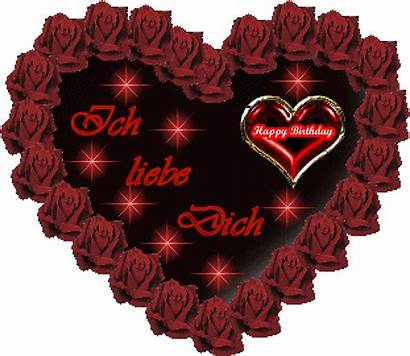 Happy Birthday Ruby Liebe Heart Cringe Roses