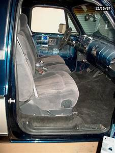 Anyone Put Late Model Truck Seats In An 80 U0026 39 S Chevy Truck