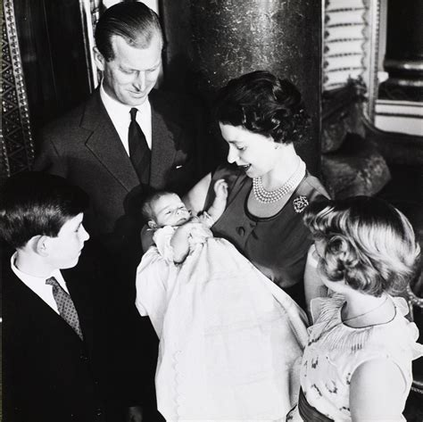 Prince Philip, Queen Elizabeth II, Princess Anne and ...