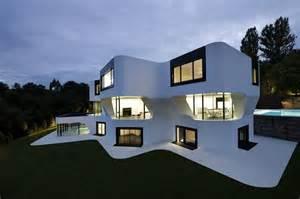 les plus belles maisons a futuristic villa by j mayer h architects ignant