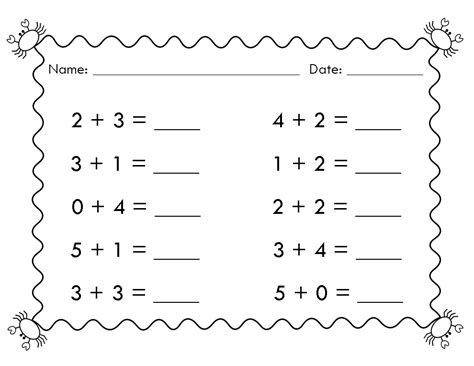 simple math activities free simple math worksheets as well as a doubles math