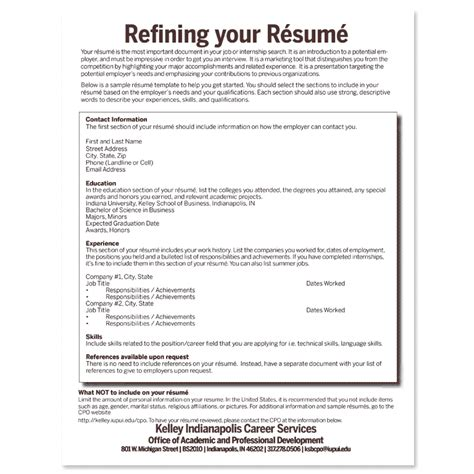 To Do Your Resume by Build Your R 233 Sum 233 Create Your Career Path Student
