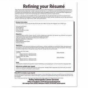 kelley school of business resume template build your rsum With kelley school of business resume template