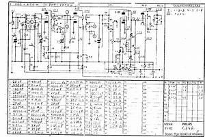 Diagram Philips Radio
