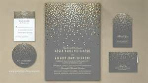 modern wedding invitations read more gold foil confetti wedding invitations wedding invitations by jinaiji