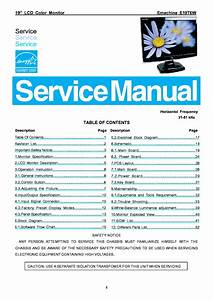 Emachine E19t6w Lcd Monitor Service Manual Download