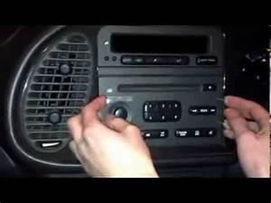 Radio Removal Free Hack  No Keys Ford  Vauxhall Saab Etc