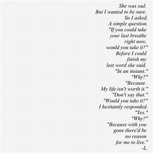 Tumblr Sad Love Poem With Photo ~ Inspiring Quotes and ...