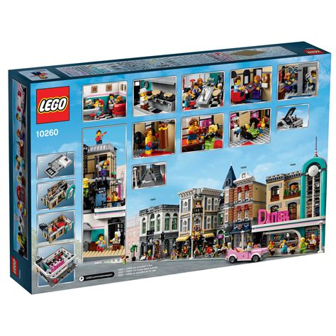 lego creator expert 2018 lego 10260 downtown dinner i brick city