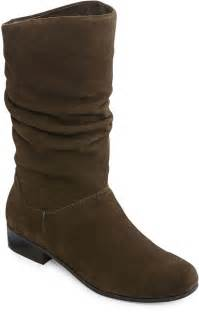jcpenney st 39 s bay womens suede slouch boots shopstyle