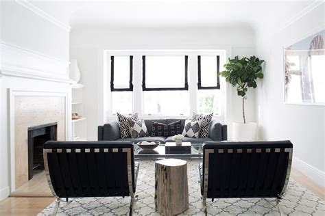 Dramatic And After Living Rooms by A Dramatic Before And After From Caitlin Flemming And
