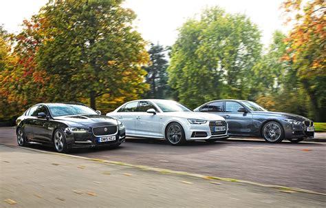 Audi A4 Vs Bmw 320d Vs Jaguar Xe, Car