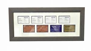 Business cards framed for Business card display frame