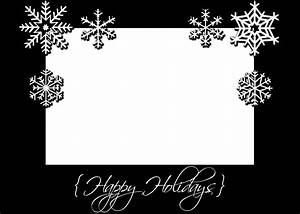 Black And White Cards 8 Best Images Of Printable Christmas Cards Black And White