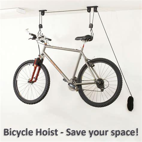 Cargoloc Ceiling Mount Bike Lift by Bike Bicycle Lift Ceiling Mounted Hoist Storage Garage