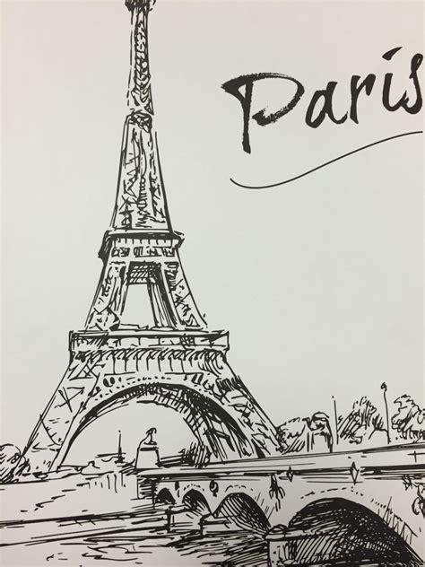 pin  briseyda  paris dibujos  lapiz dibujos paris