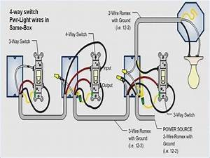 Wiring Diagram For A 4 Way Light Switch