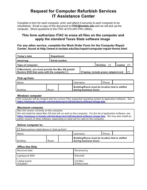 Computer Refurbish Request Form. Skills And Abilities In Resumes Template. Templates For Registration Forms Template. Resumes For Law School Template. Proposal Ideas Involving Horses. Dear Sirs Cover Letter. Sales Sheet Template Word Template. Resume Format On Microsoft Word 2007 Template. Pediatric Medical Assistant Resume Template