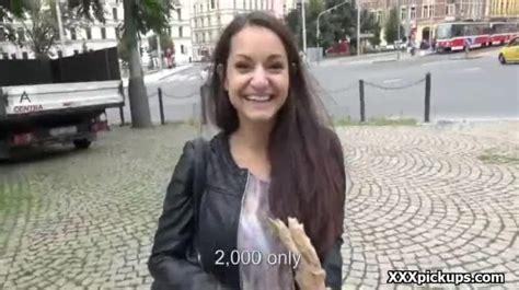Public Pickup Girl Seduces Tourist To Get Cash 20