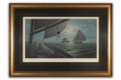 Framed Barber John Prints Paintings Limited Edition