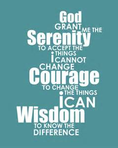 Image result for serenity prayer