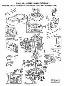 Ayp  Electrolux Ayp7124b79  1997  Parts Diagram For Engine  B U0026s