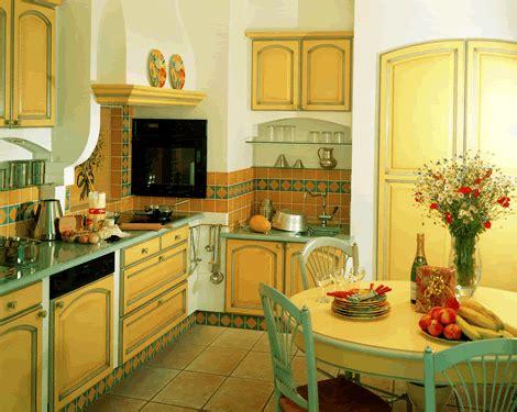 cuisine jaune et verte rustique doladille abc