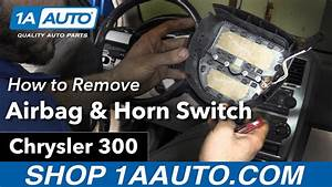 How To Remove Airbag  U0026 Horn Switch Cover 05