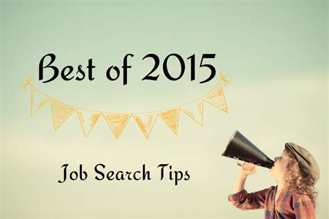 Top Job Search Tips From 2015