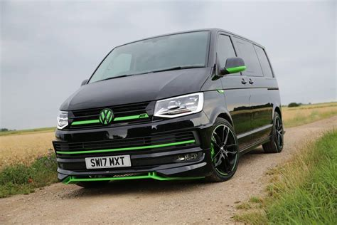 vw t6 abt abt sportsline our abt vw t6 in black green