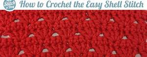 The Easy Shell Stitch    Crochet Stitch  60