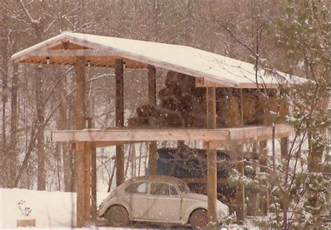 building  cabin   telephone poles google search