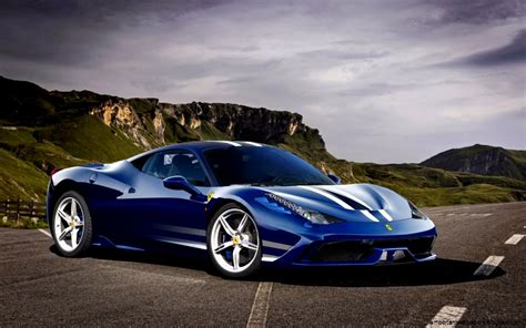 Sport Cars Wallpaper Blue Car