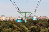 Teleferico De Madrid Cable Car, Spain Editorial ...