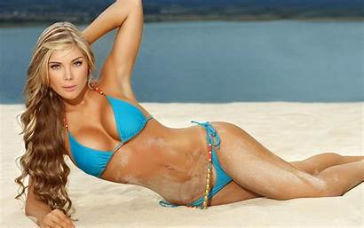 Sofia Jaramillo Widescreen Wallpapers Backgrounds Blonde Mujeres