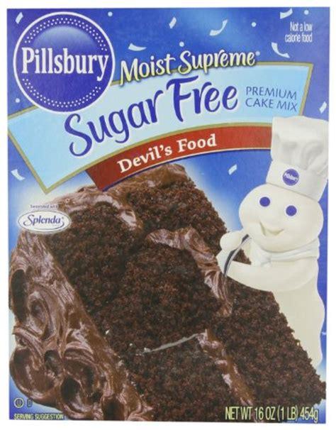 pillsbury moist supreme sugar  devils food cake mix