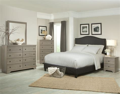 kiths raleigh aged grey cypress finished bedroom set
