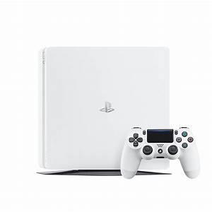 PlayStation 4 Slim 500GB Glacier White Console The Gamesmen