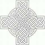 Celtic Coloring Cross Pages Mandala Crosses Adults Printable Designs Adult Sheets Colouring Mandalas Knots Dragon Template Irish Stencils Knot Drawing sketch template